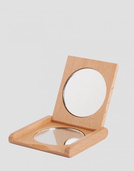 REDECKER Drewniane lusterko małe