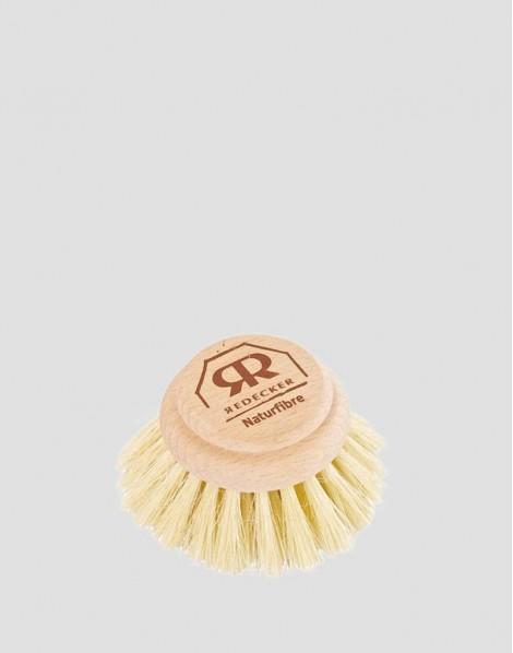 REDECKER Główka do drewnianej szczotki do mycia naczyń twarda 5 cm